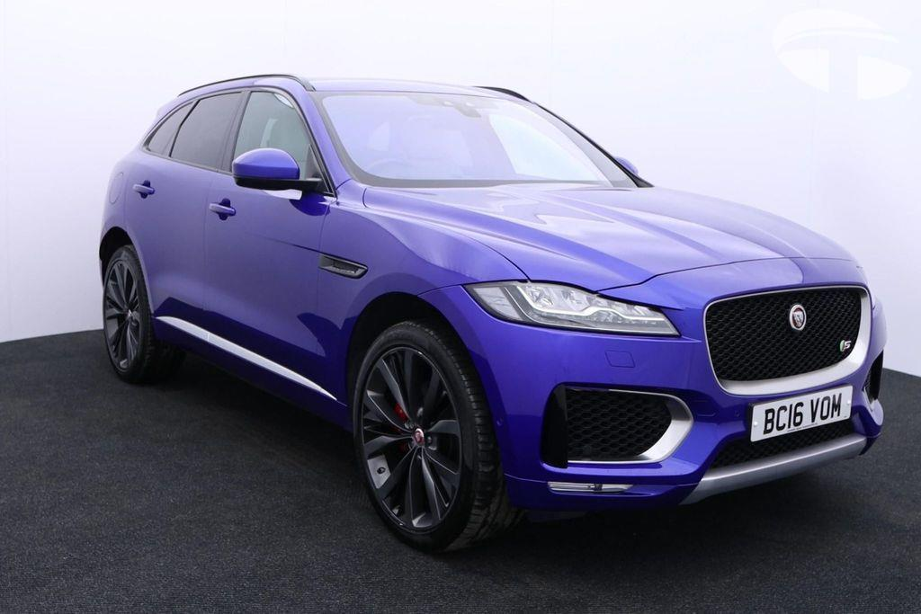 Jaguar F-PACE 3.0d V6 1st Edition AWD Fixed Panoramic roof Head-Up Display Diesel Automatic 5 door 4x4